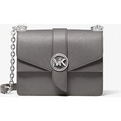 MK Petit sac à bandoulière Greenwich en cuir saffiano - GRIS CHINÉ(GRIS) - Michael Kors - MICHAEL Michael Kors - Modalova