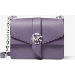 MK Petit sac à bandoulière Greenwich en cuir saffiano - ORCHIDÉE(VIOLET) - Michael Kors - MICHAEL Michael Kors - Modalova