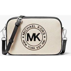 MK Grand sac à bandoulière Fulton Sport en toile - - Michael Kors - MICHAEL Michael Kors - Modalova