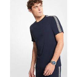 MK T-shirt en coton avec bandes à logos - Michael Kors - Modalova
