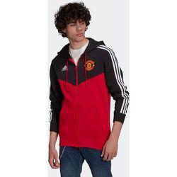 Veste à capuche Manchester United3-Stripes Full-Zip - adidas performance - Modalova