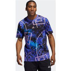 T-shirt Throwback Allover Print - adidas performance - Modalova