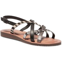 Sandales plates cuir BIBIANI - TBS - Modalova