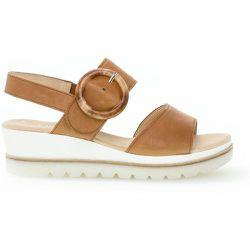 Sandales compensées suede talon compensé - Gabor - Modalova