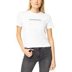 Tee shirt manches courtes logo poitrine SHRUNKEN INSTITUTION - Calvin Klein - Modalova