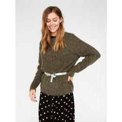 Pull en maille Manches longues laine - Pieces - Modalova