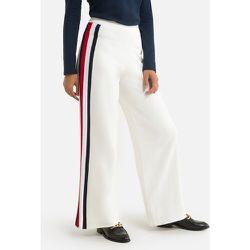 Pantalon large à rayures côtés - Tommy Hilfiger - Modalova