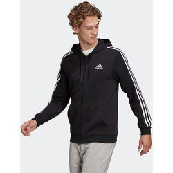 Veste à capuche Essentials French Terry 3-Stripes Full-Zip - adidas performance - Modalova