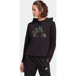 Sweat-shirt à capuche adidas Essentials Camouflage Logo - adidas performance - Modalova