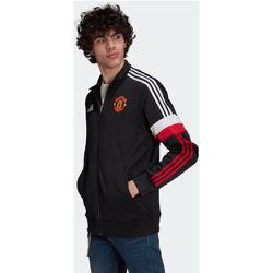 Veste de survêtement Manchester United 3-Stripes - adidas performance - Modalova