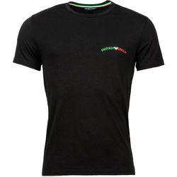 Tee-shirt col rond coton - Emporio Armani - Modalova