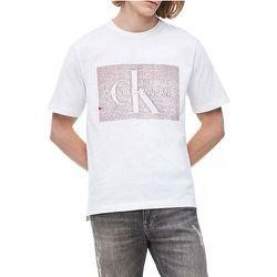Tee shirt manches courtes logo MONOCHROME - Calvin Klein - Modalova