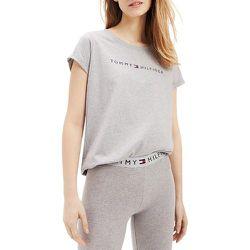 Tee shirt manches courtes avec logo - Tommy Hilfiger - Modalova