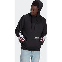 Sweat-shirt à capuche Adicolor Tricolor Trefoil - adidas Originals - Modalova
