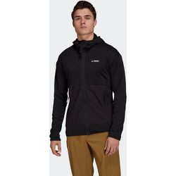Veste de randonnée Terrex Tech Fleece Lite Hooded - adidas performance - Modalova