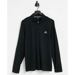 Top à col zippé avec logo 3bandes - adidas Golf - Modalova