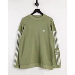 Adicolor - Lock Up - Sweat-shirt - Kaki - adidas Originals - Modalova