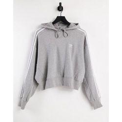Adicolor - Sweat à capuche court à trois bandes - adidas Originals - Modalova