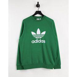 Adicolor - Sweat-shirt à grand logo trèfle - adidas Originals - Modalova