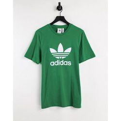 Adicolor - T-shirt à grand logo trèfle - adidas Originals - Modalova