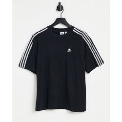 Adicolor - T-shirt effet satiné à trois bandes - adidas Originals - Modalova
