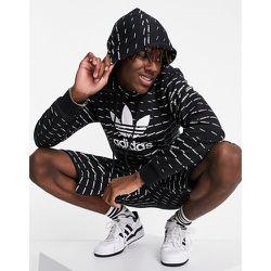 Hoodie à logo répété - adidas Originals - Modalova
