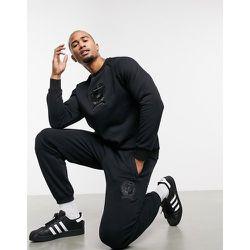 Jogger d'ensemble en polaire avec blason style université - adidas Originals - Modalova