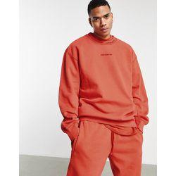 Premiums Sweats' - Sweat-shirt côtelé surteint - brûlé - adidas Originals - Modalova