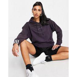 RYV - Hoodie en polaire avec logo - foncé - adidas Originals - Modalova