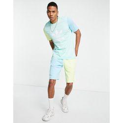 Short color block - menthe - adidas Originals - Modalova