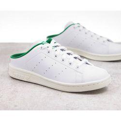 Stan Smith - Baskets durables style mules - Blanc et vert - adidas Originals - Modalova