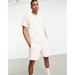 X Pharrell Williams - T-shirt de qualité supérieure - Écru - adidas Originals - Modalova