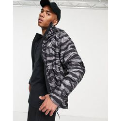Adidas - Outdoors Terrex - Veste imperméable à motif camouflage tigré - adidas performance - Modalova
