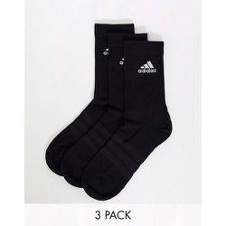 Adidas Running -Lot de 3 paires de chaussettes rembourrées - adidas performance - Modalova
