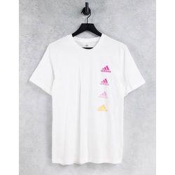 Adidas - T-shirt à logo répété - adidas performance - Modalova