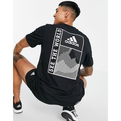 Adidas Training - Sportforia - T-shirt imprimé au dos - adidas performance - Modalova