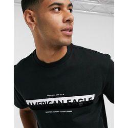T-shirt à grand logo contrastant sur le devant - AMERICAN EAGLE - Modalova