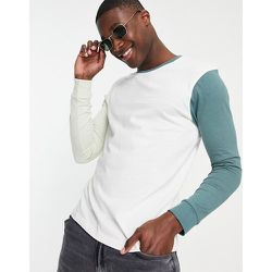 T-shirt à manches longues effet color block - Another Influence - Modalova