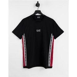 Armani - - T-shirt à bandes logo - EA7 - Modalova