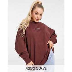 ASOS Curve - Weekend Collective - Sweat-shirt oversize avec logo au dos - ASOS Weekend Collective - Modalova