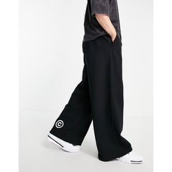 Jogger oversize ample en tissu épais imprimé - ASOS Dark Future - Modalova