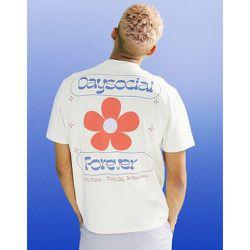 ASOS Daysocial - T-shirt décontracté à imprimé floral - ASOS Day Social - Modalova