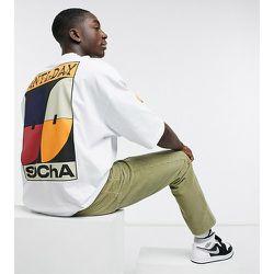 ASOS - Daysocial - T-shirt oversize avec divers imprimés graphiques et logos - ASOS Day Social - Modalova