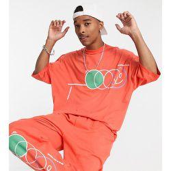 ASOS Daysocial - T-shirt oversize d'ensemble à imprimé formes abstraites - ASOS Day Social - Modalova