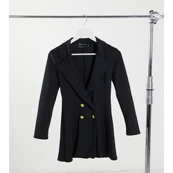 ASOS DESIGN Petite - Blazer croisé glamour en jersey - ASOS Petite - Modalova