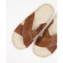 Sandales tissées style espadrilles - Fauve - ASOS DESIGN - Modalova
