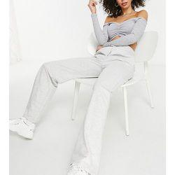 ASOS DESIGN Tall - Jogger à coupe droite avec taille large et nervures - chiné - ASOS Tall - Modalova