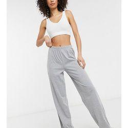 ASOS DESIGN Tall- Mix & Match - Pantalon de pyjama en jersey coupe droite - chiné - ASOS Tall - Modalova