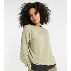 ASOS DESIGN Tall - Ultimate - Sweat-shirt en coton biologique - Olive délavé - ASOS Tall - Modalova