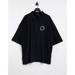 ASOS - Weekend Collective - Robe courte oversize avec logo et col - ASOS Weekend Collective - Modalova
